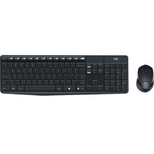 Logitech MK315 Quiet Wireless Keyboard Mouse Combo