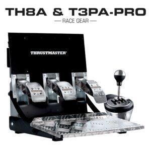 Thrustmaster TH8A & T3PA PRO Bundle Race Gear