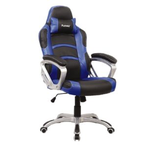 Playmax Gaming Chair Blue and Black